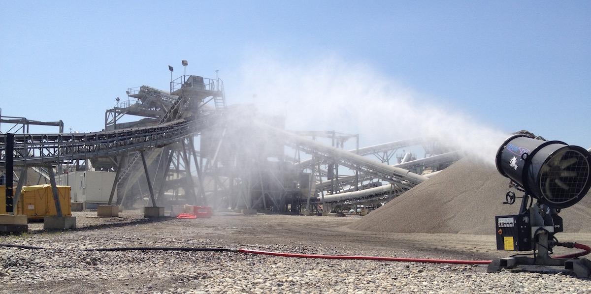 lignosulfonate use in dust control